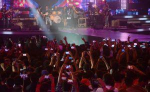 Rock On 2 live concert, Mumbai                                  (Photo Credit : IANS)