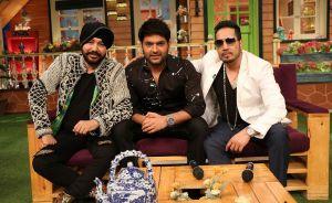 Daler Mehndi , Kapil Sharma and Mika Singh