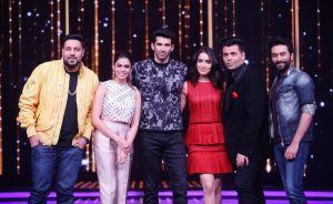 Badshah,Shalmali Kholgade,Aditya Roy Kapoor,Shraddha Kapoor,Karan Johar and Shekhar Ravjiani
