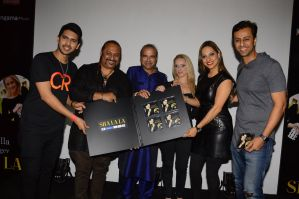 (L-R)-Armaan-Malik,-Leslie-Lewis,-Suresh-Wadkar-Ilana-Segev,-Preety-Bhalla-&-Salim-Merchant-launch-Preety-&-Ilana's-new-single-'Sha-La-La'-presented-by-Artist-Aloud-only-on-Hungama
