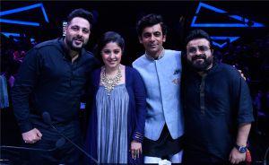 Badshah, Sunidhi Chauhan, Sunil Grover, Pritam on Dil Hai Hinduastani 2