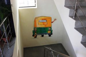 RED FM gets street art on their walls
