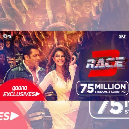 Race 3' songs hit 75 million mark on Gaana | Radioandmusic com