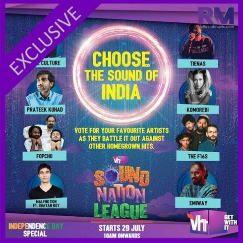 Vh1 India brings music showdown closer to home with Vh1 Sound Nation