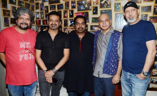 (L-R) Amole Gupte, Ehsaan Noorani, Shankar Mahadevan, Sanjay Divecha & Loy Mendoza
