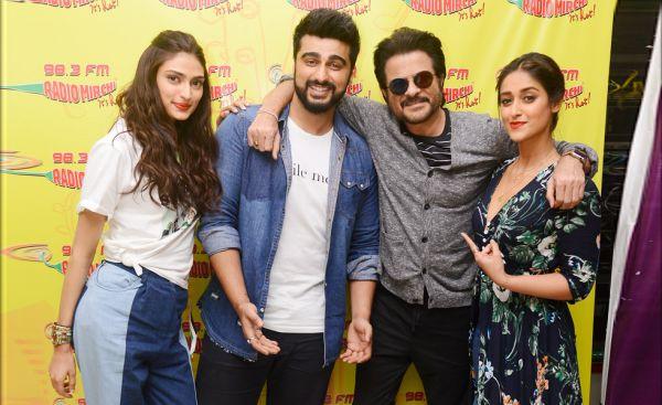 Anil Kapoor,Arjun Kapoor,Ileana D'Cruz,Athiya Shetty