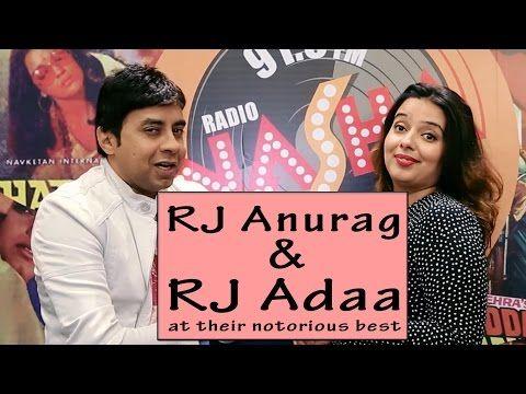 RJ Anurag & RJ Adaa at their notorious best