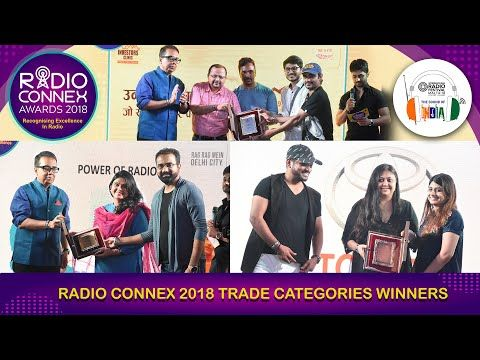 Radio Connex 2018 Trade categories winners!
