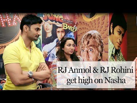 RJ Anmol & RJ Rohini get high on Nasha