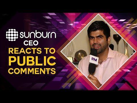 Sunburn CEO Karan Singh reacts to public comments!