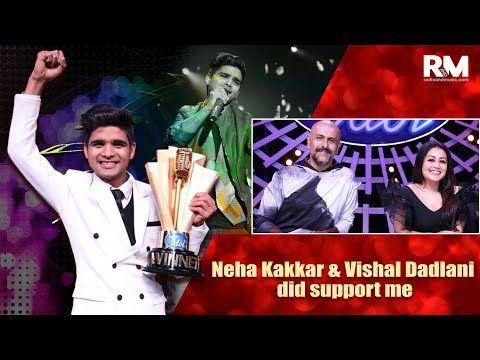 Indian Idol 10 winner Salman Ali  praises Neha Kakkar and Vishal Dadlani