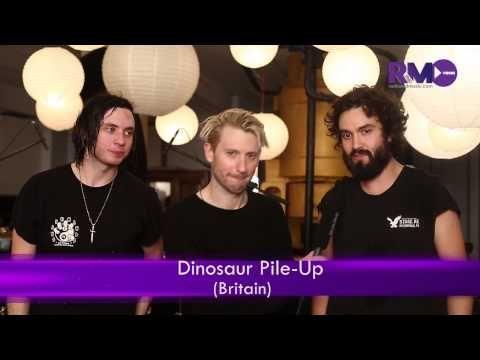 RNM EXCLUSIVE: Dinosaur Pile-Up talk Indian radio, food & new album
