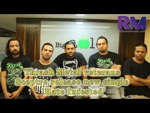 Thrash Metal veterans Sceptre release new single 'Hate Infested'