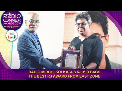 Radio Mirchi Kolkata's RJ Mir bags Best RJ award from East Zone