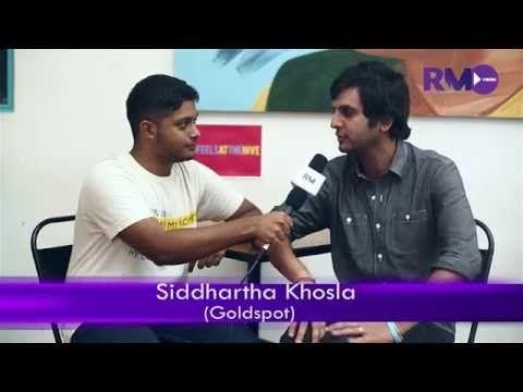 RNM EXCLUSIVE: Goldspot front-man Siddhartha Khosla talks NH7 Wekender, The Royals and new album
