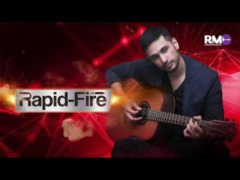 Rapid fire with Arjun Kanungo