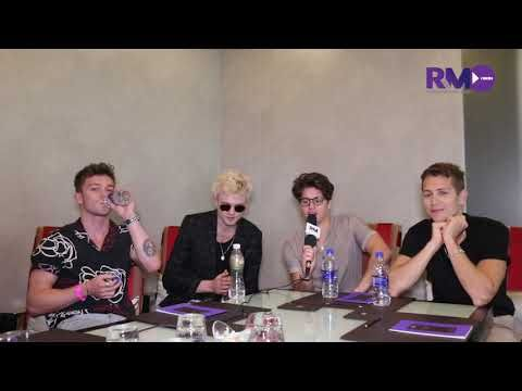 'The Vamps' on their performance in Mumbai 2018