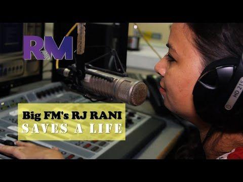 RJ Rani 'Saves a Life'